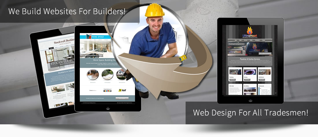 web design for tradesmen