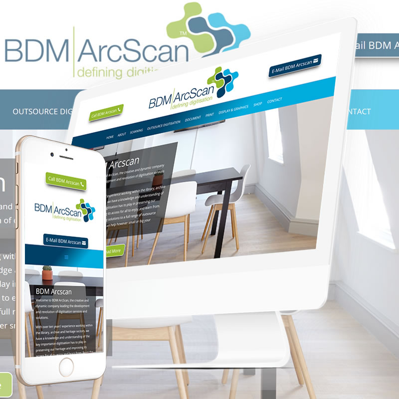 BDM Arcscan Website