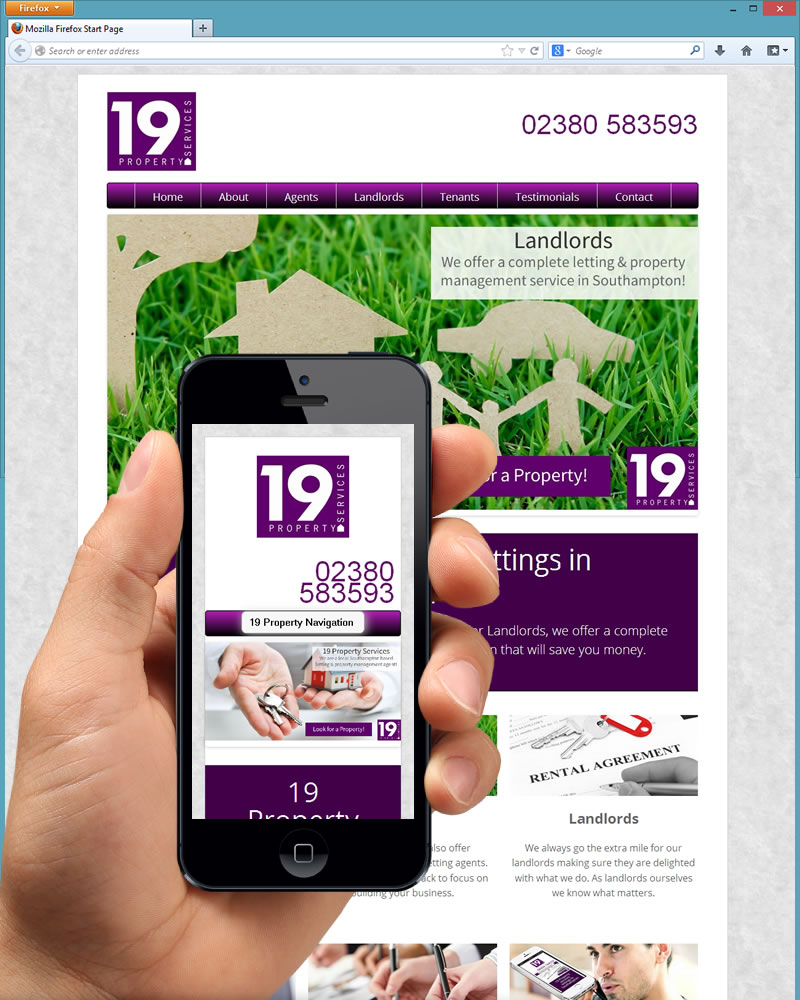 19 property services website