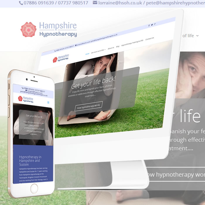 Hampshire Hypnotherapist Website