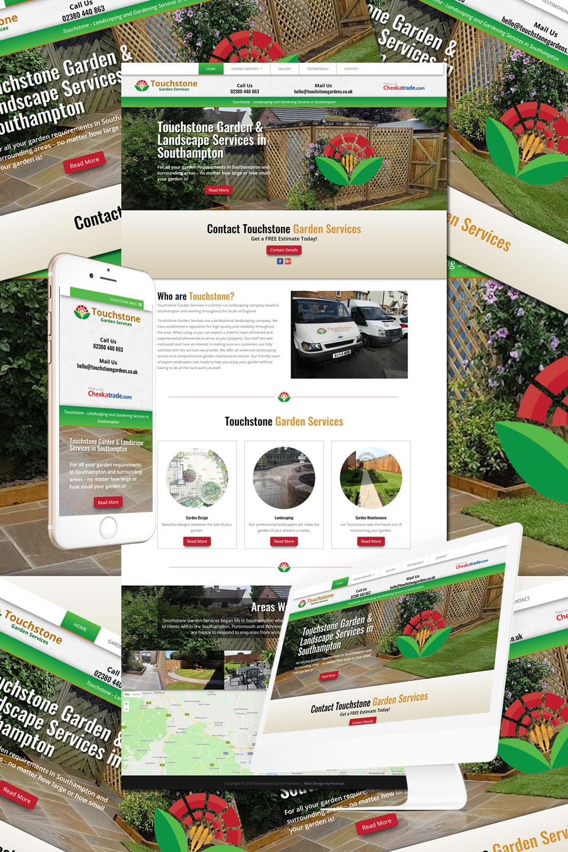Touchstone Garden Services Website