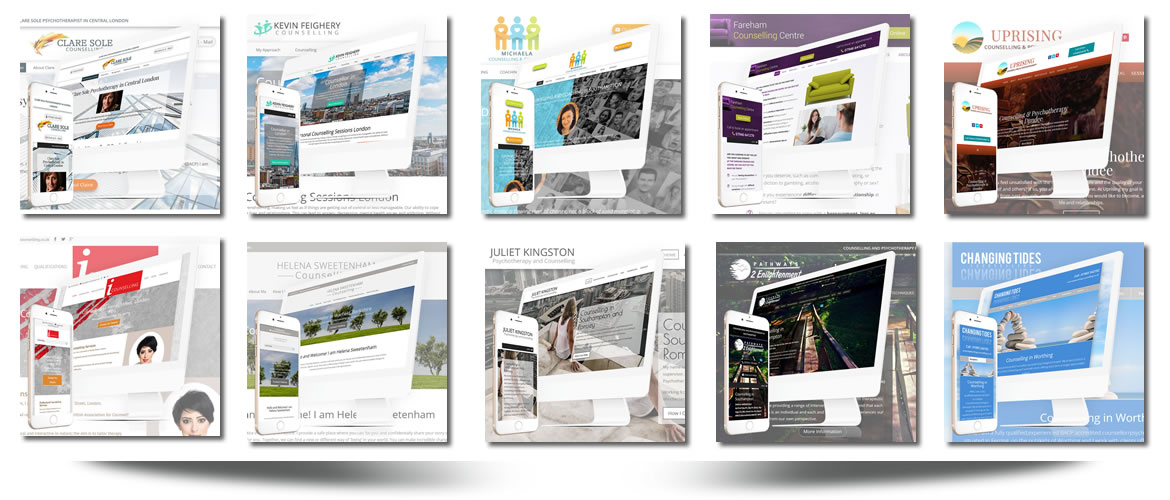 web design for counsellors