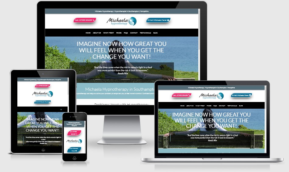 Michaela Hypnotherapy Website