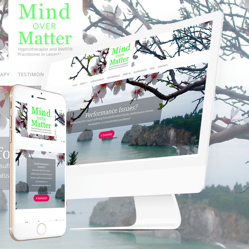 Mind Over Matter Website