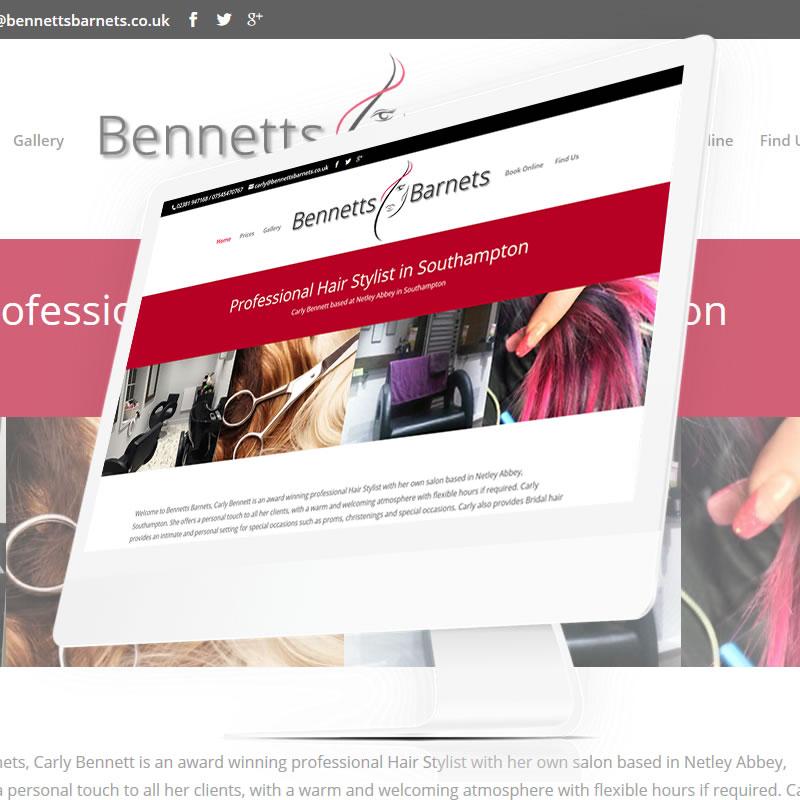 Bennetts Barnets Website