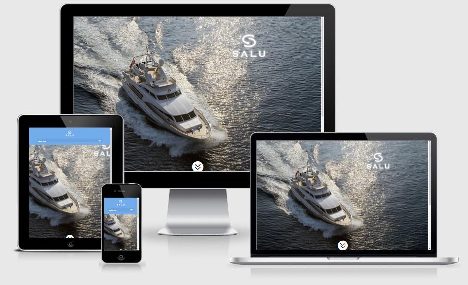 Salu Motor Yacht Website