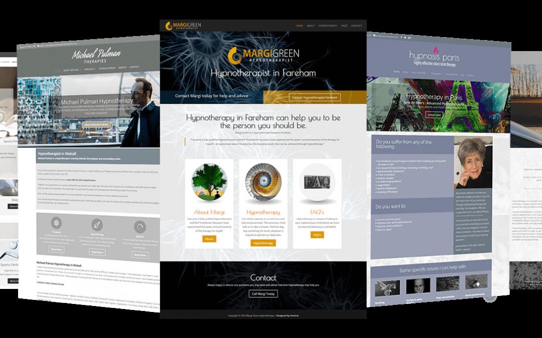Website Design for Hypnotherapists
