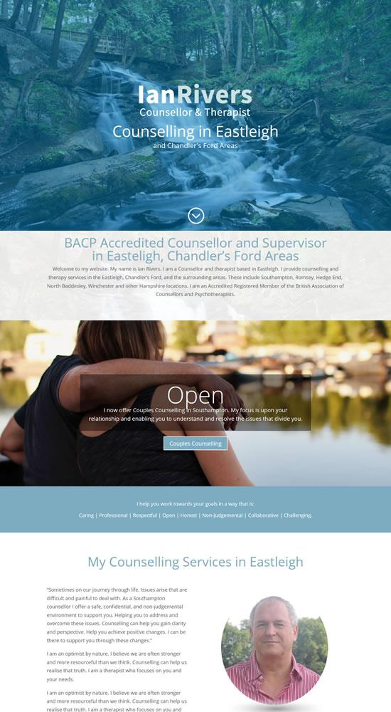 Eastleigh Counsellor Website
