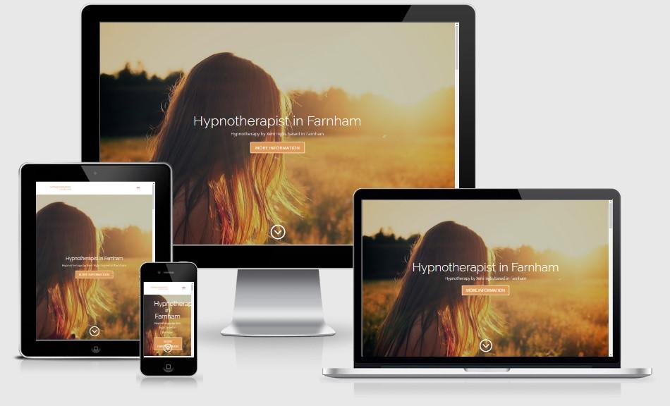 Farnham Hypnotherapist Website