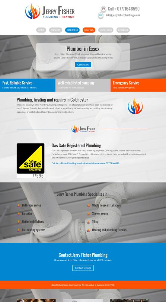 Jerry Fisher Plumbing Website