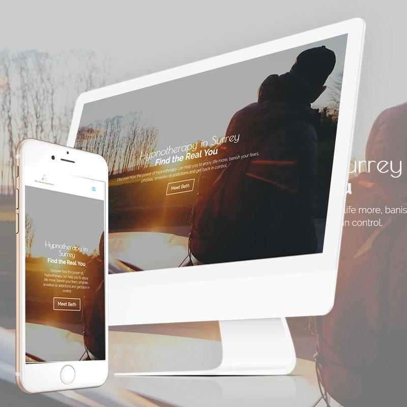 Surrey Hypnotherapist Website