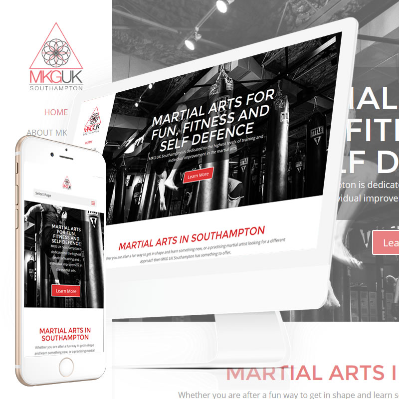 MKGUK Southampton Website
