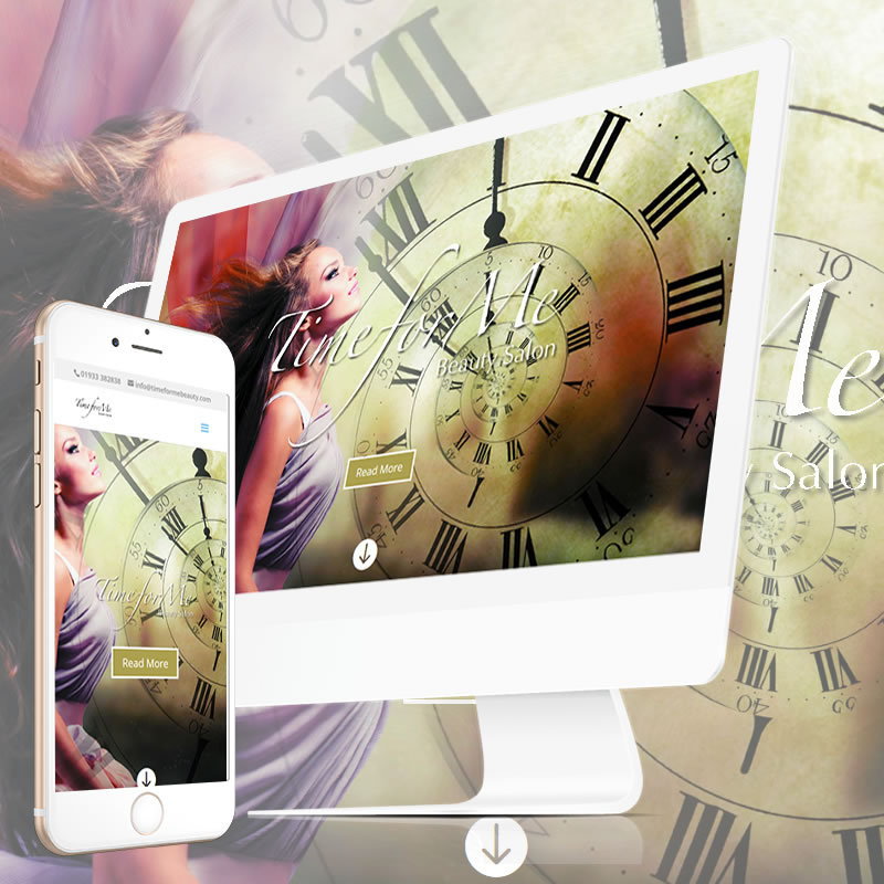 Time For Me Beauty Website