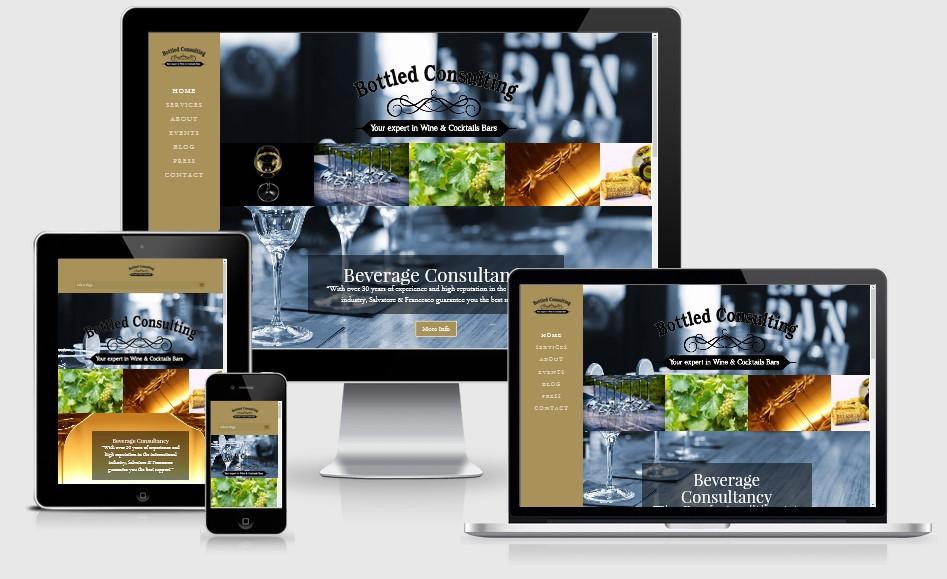 Bottled Consulting Website
