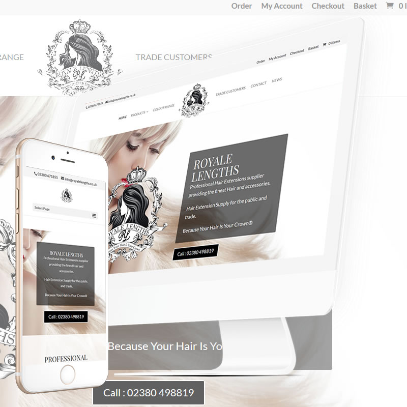 Royale Lengths Website
