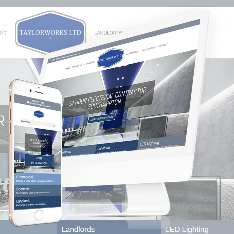 TaylorWorks Ltd Website