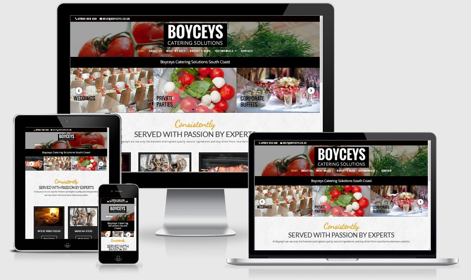 Boyceys Website