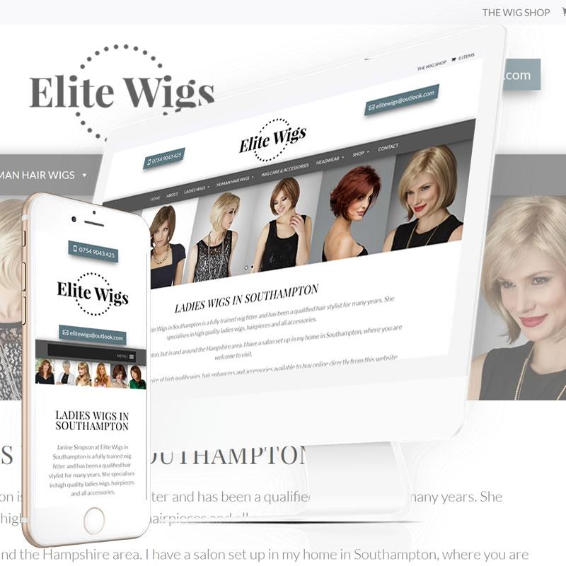 Elite Wigs Website