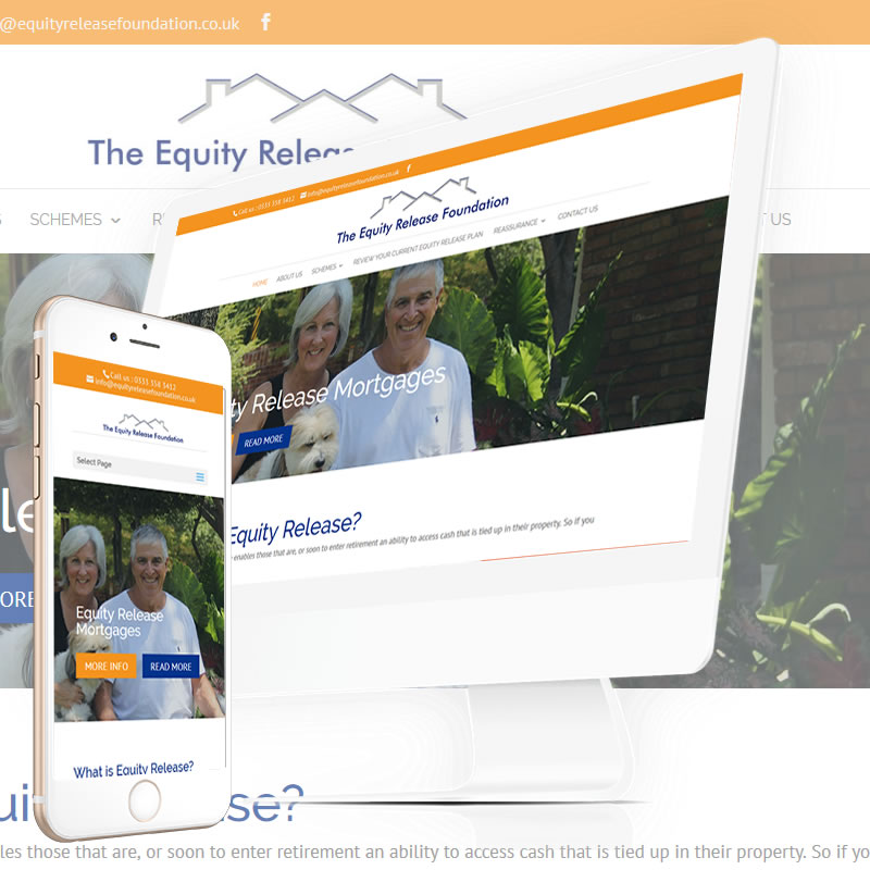 Equity Release Foundation Website