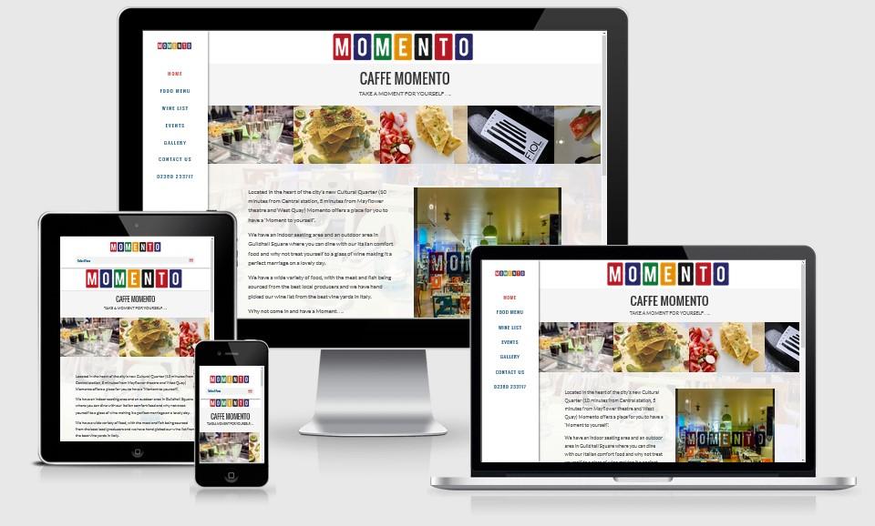 Caffe Momento Website
