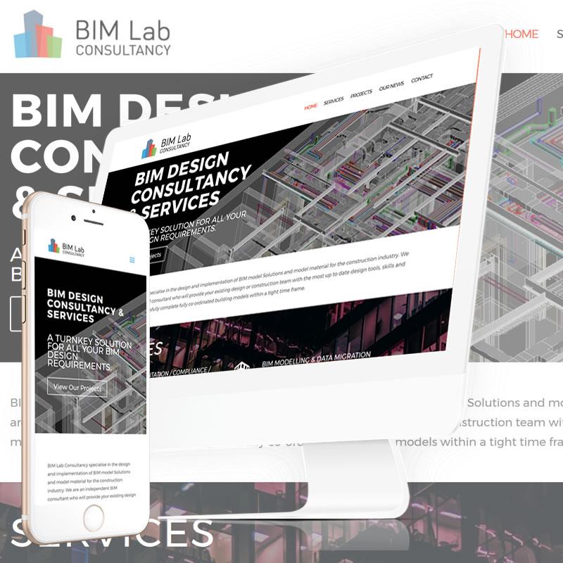BIM Lab Consultancy Website