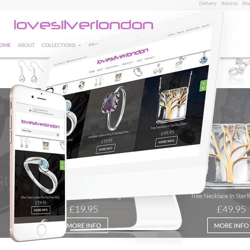 Love Silver London Website