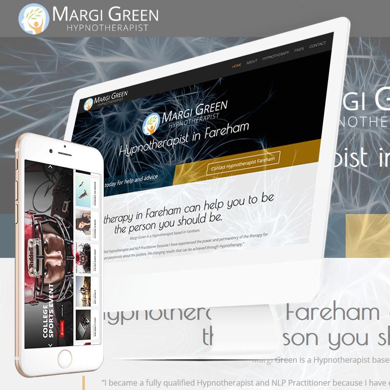 Margi Green Hypnotherapy Website