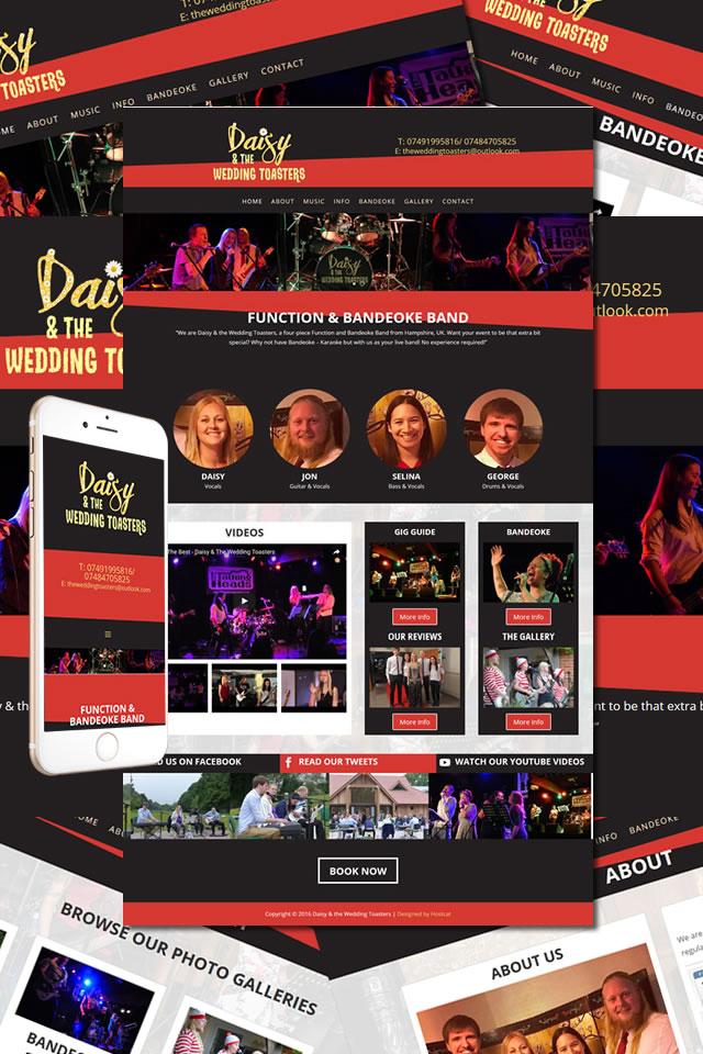 The Wedding Toasters Website
