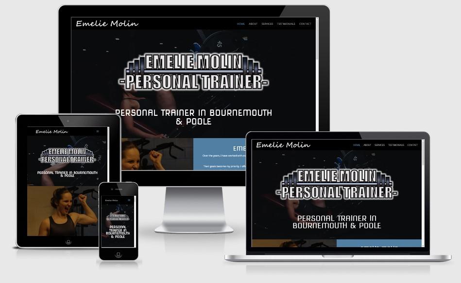 Emilie Molin Website