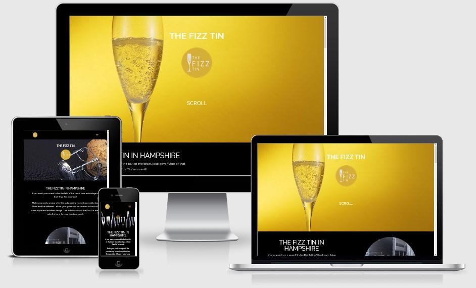 The Fizz Tin Website