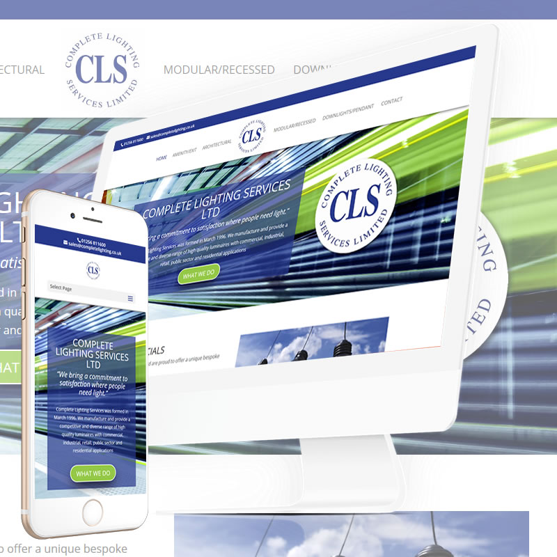 Complete Lighting Services Website