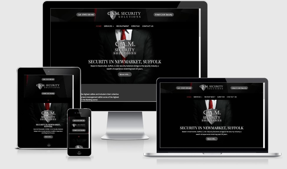 CAM Security  Website