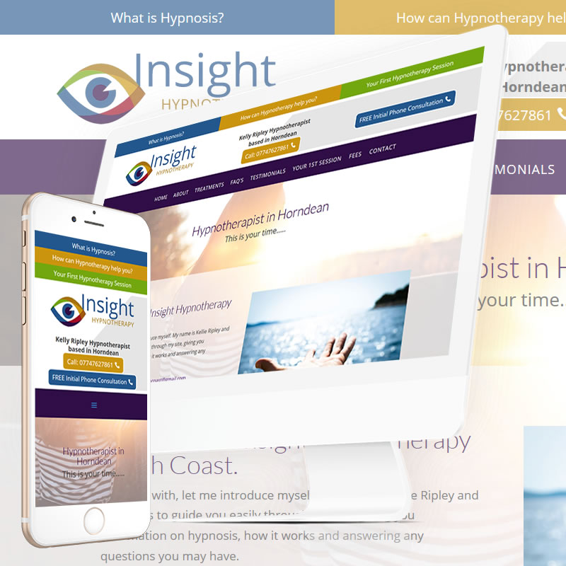Insight Hypnotherapy Horndean Website
