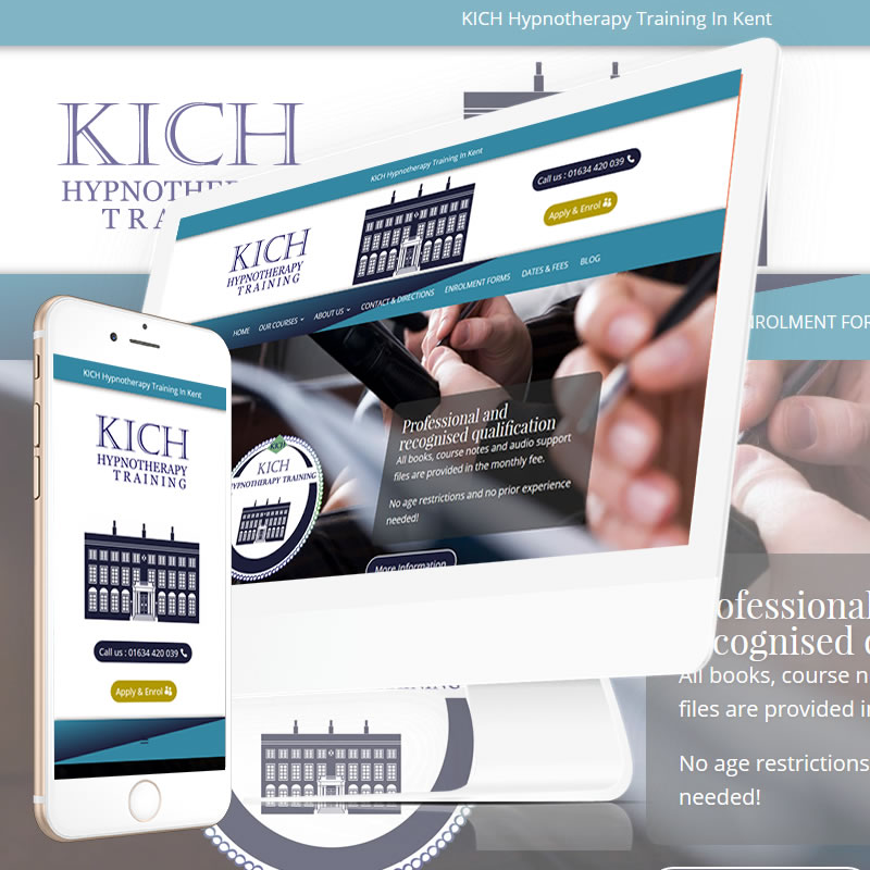 KICH Hypnotherapy Training In Kent  Website