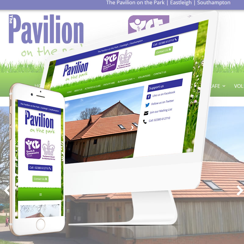 Pavilion on the Park website