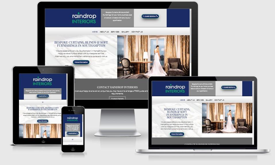 Raindrop Interiors Website
