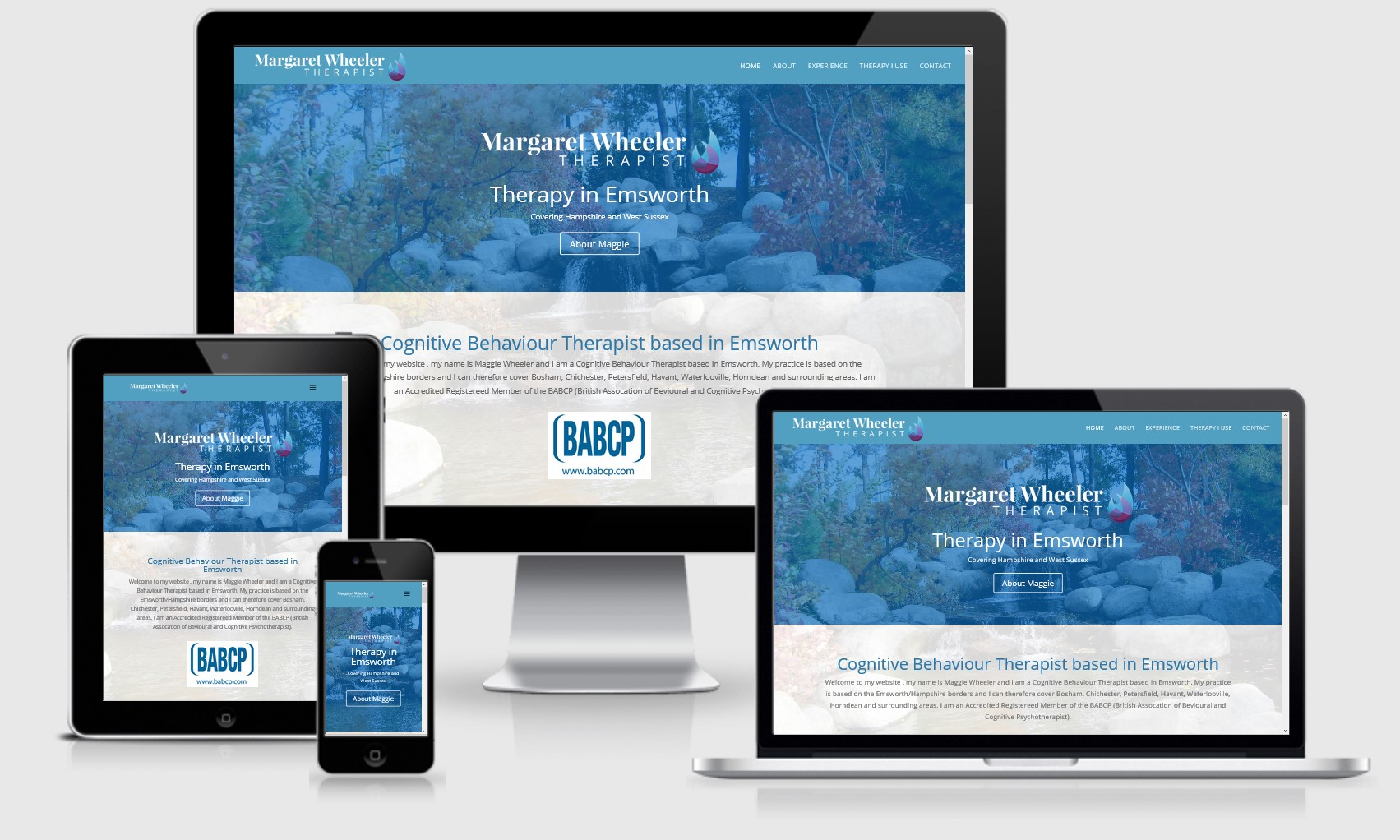 Margaret Wheeler Therapist Website