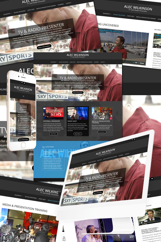 Alec Wilkinson TV & Radio Presenter Website