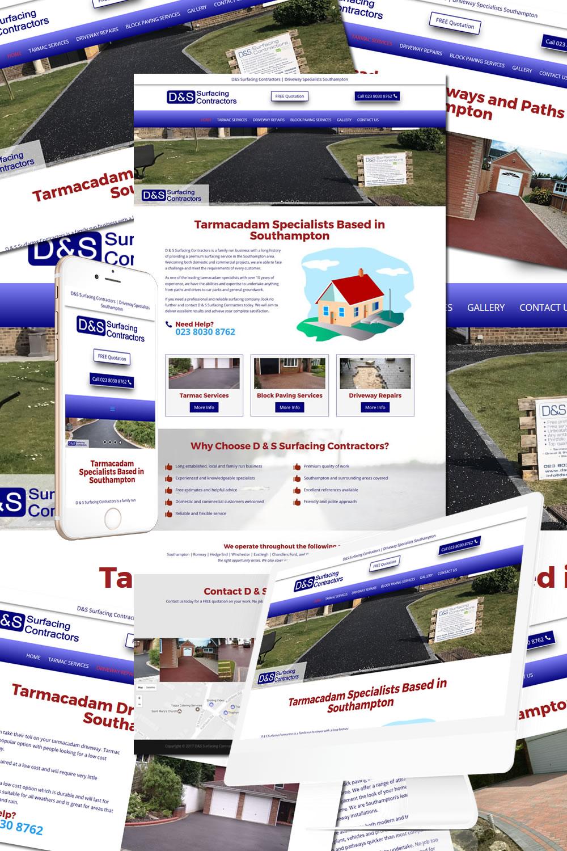 D&S Surfacing  Contractors Website