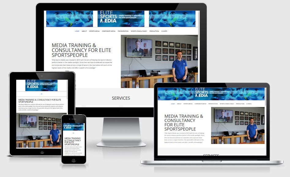 ESM Elite Sports Media Website