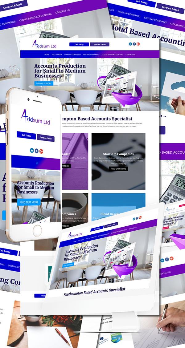 AddSum Limited Website