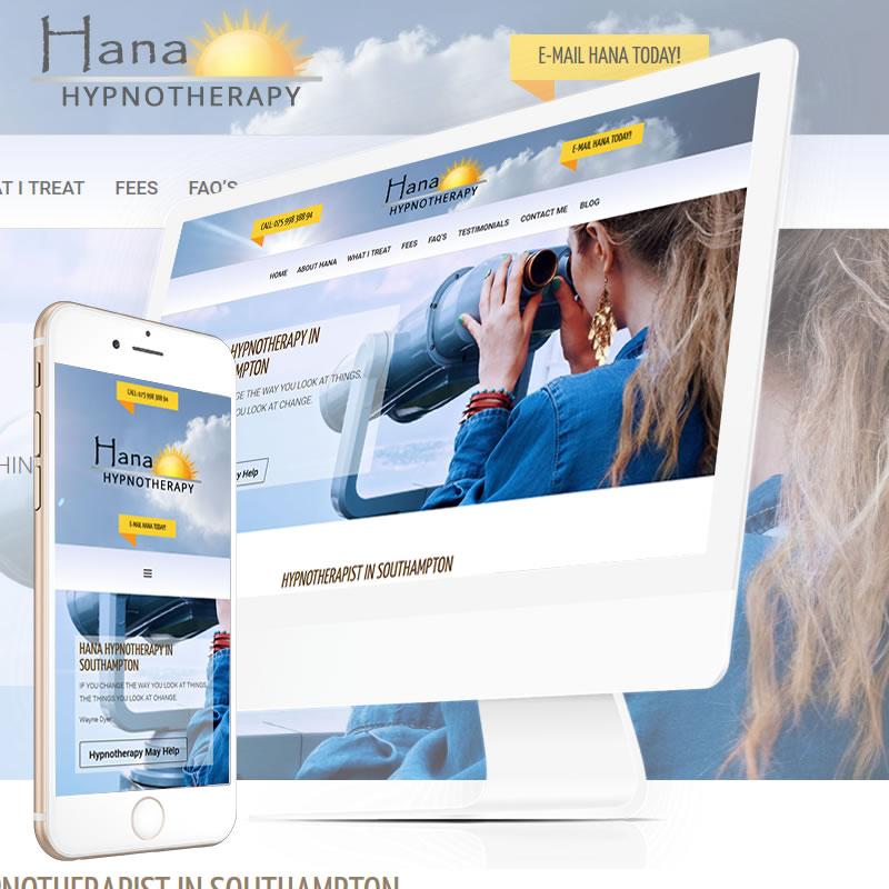 Hana Hypnotherapy Website