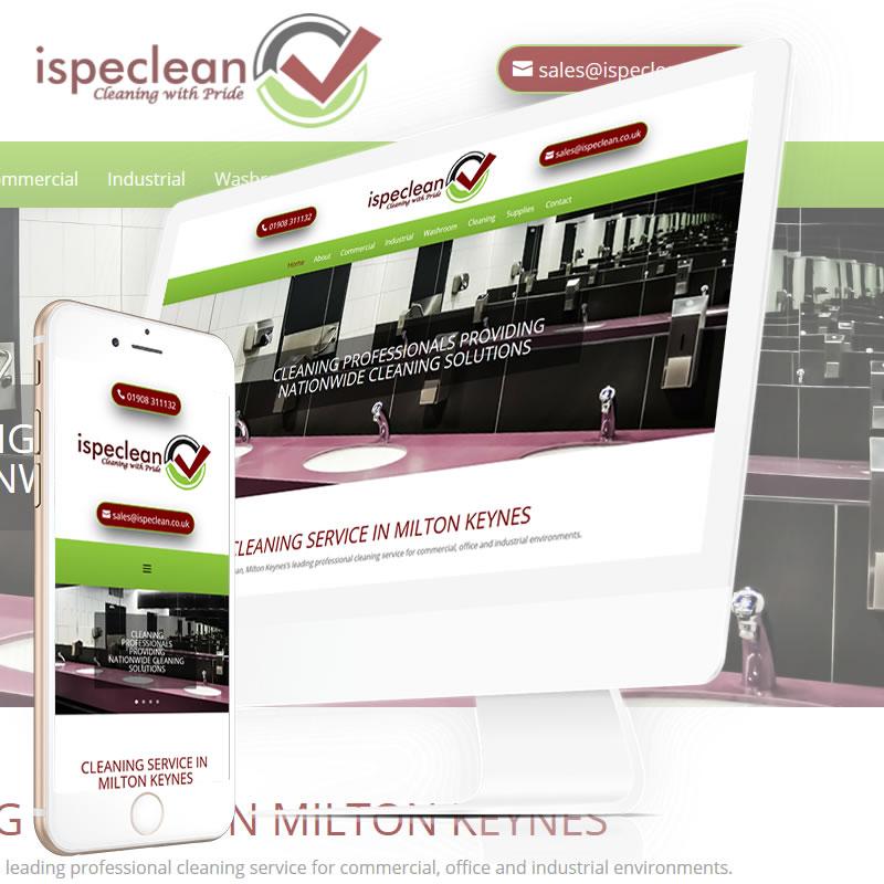 ispeclean in Milton Keynes Website