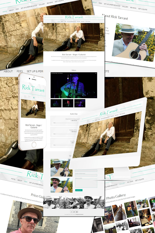 Rick Tarrant Musician Website