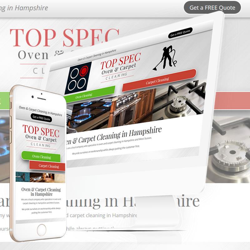 Top Spec Cleaning Website