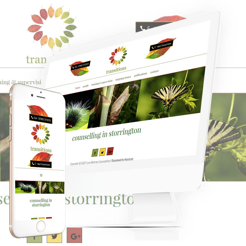counselling web design white