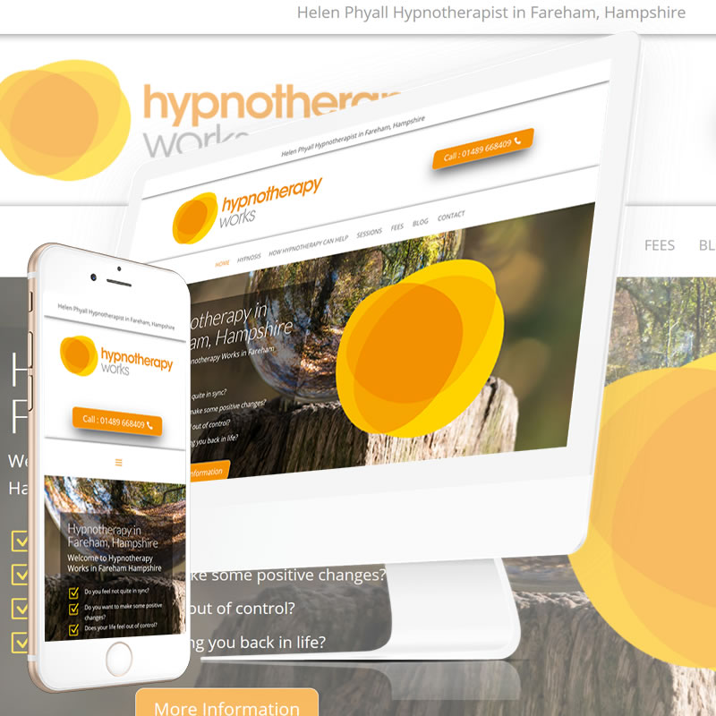 Hypnotherapy Works Hampshire Website