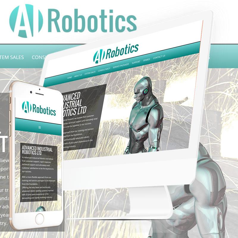 AI Robotics Website
