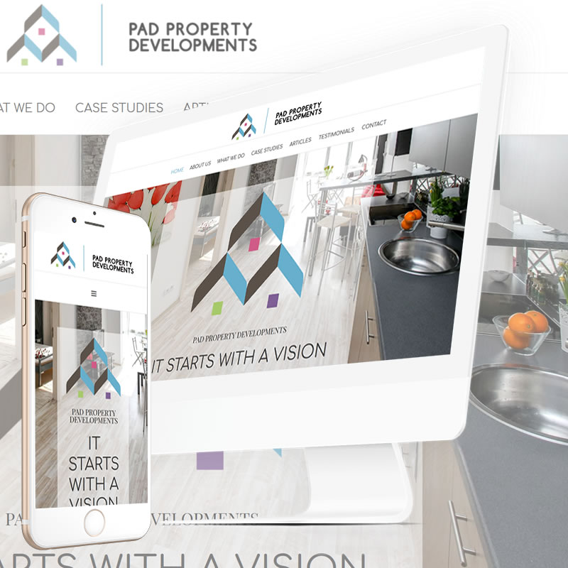 Pad Property Developments Website