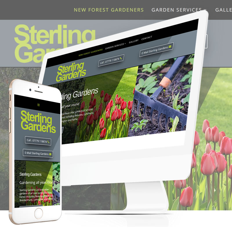 Sterling Gardens Website